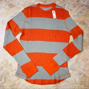Old Navy Striped Thermal L/S Shirt